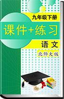 初中语文北师大版九年级下册(2018)全册各课课件+练习汇编