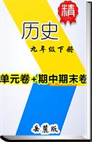 2019春季新版岳麓版歷史九年級下冊單元卷+期中期末卷
