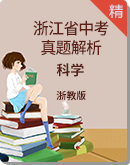 2019年浙江省中考科学真题试卷(解析版)