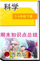 粵教版小學科學3-6年級下冊期末復習資料