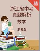 2019年浙江省中考數學真題試卷(解析版)