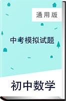 2019年甘肃省初中数学中考模拟试题(含答案)   通用版
