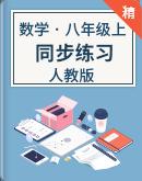 人教版数学八年级上册(同步练习)