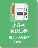 2019遵义市 小学语文 小升初 期末测试卷   人教版(新课程标准)