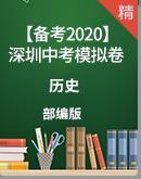 【备考2020】深圳市历史中考模拟题
