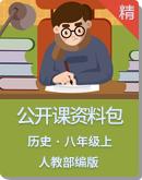 初中历史人教部编版八年级上册公开课资料包