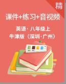 2019-2020年初中英语牛津深圳版八年级上册同步课件+练习+素材