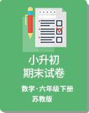 2019年江苏省 部分市区 小升初数学 期末试卷(含答案) 苏教版