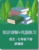 初中语文 人教部编版 七年级下册(2016部编)全册各课知识讲解+巩固练习(含答案)