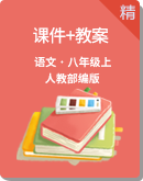 人教部编版语文八年级上册同步课件+教案