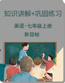 2019-2020学年 新目标(Go for it)版 七年级英语上册 知识讲解+巩固练习
