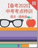 【备考2020】中考语文考点特训(学生版+教师版)