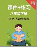 统编版语文八年级下册同步课件+练习