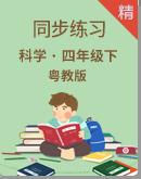 2020粤教版科学四年级下册同步练习