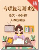 人教统编版语文 小升初专项复习测试卷+配套课件