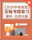 【2020收官中考】北師大版數學壓軸專題復習課件