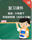 外研剑桥版(刘兆义主编)英语六年级下册复习课件
