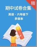 【期中�土�】2019-2020�W年英�Z六年�下�云谥小拊�卷合集(含答案)(多版本)