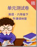 牛津译林版英语六年级下册同步测试卷(含答案)