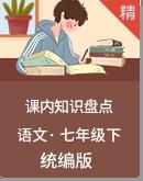 统编版语文七年级下册课内知识盘点
