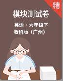 教科版(廣州)英語六年級下冊模塊測試卷(含答案及解析)