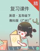 教科版(广州)英语五年级下册英语复习课件
