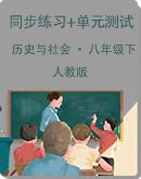 初中历史与社会 人教版 八年级下册 同步练习+单元检测