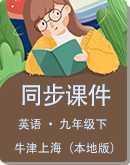初中英语 牛津上海(本地版)五四制 九年级下册 同步课件