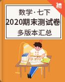 【期末復習】2020年七年級數學下冊 期末測試卷 多版本匯總