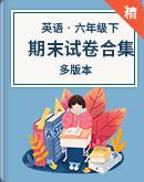【期末復習】2019-2020學年英語六年級下冊期末試卷合集(含答案)(多版本)