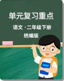 小学语文 统编版 二年级下册 单元复习重点
