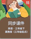 冀教版(三年级起点)三年级下册英语同步课件+素材