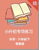 粤教版科学小升初专项练习