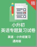 【备考2020】2020年小升初英语专题复习(含答案及解析)