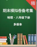 【期末复习】八年级下册地理期末试卷备考集