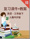 【期末复习】人教pep版英语三年级下册单元复习课件+教案