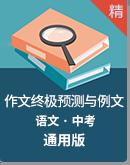 2020中考语文作文终极预测与例文 课件