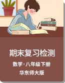 2020年 华东师大版 八年级数学下册 期末复习检测卷