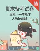 【2020统编版】语文一年级下册 期末备考试卷合集