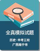 2020年 广西南宁市 中考历史 全真模拟试题