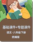 初中语文 人教统编版(部编版)八年级下册 全册各单元基础课件+专题课件