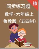 鲁教版(五四制)数学六年级上册 同步练习题