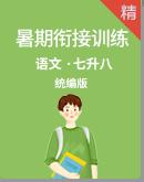 【暑假專區】統編版語文七升八暑期銜接訓練(含解析)