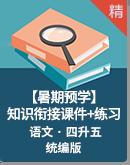 【暑期預學】統編版語文 四升五基礎知識銜接拔高專題 課件+練習