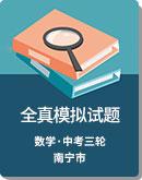 2020年廣西 南寧市 中考 數學 全真模擬試題