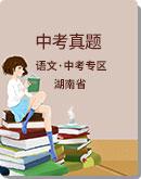 2020年湖南省各地市 中考语文 真题试卷汇编