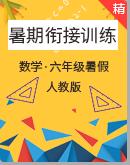 2020年人教版数学六升七暑期衔接训练(含答案)