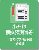 2020年 部编版 六年级下册 小升初语文 模拟预测试卷(解析版)