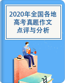 2020年全國各地高考真題作文作點評與分析