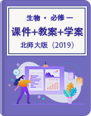 高中生物 北师大版(2019)必修一 课件+教案+学案